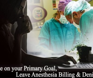 Anesthesia billing